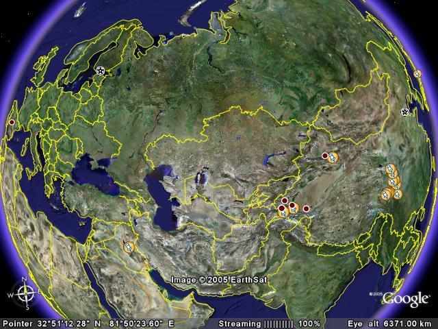 Itinerario por China 2005