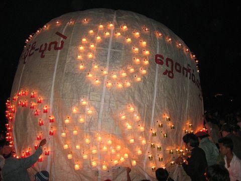 Festival de globos de Taunggyi