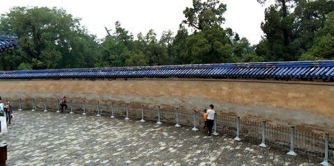 Muro del eco en el Templo del Cielo en Pekín (Pincha para ver en grande)